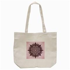 Sacred Art Shaman Shamanism Tote Bag (Cream)