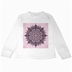 Sacred Art Shaman Shamanism Kids Long Sleeve T Shirts
