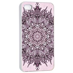 Sacred Art Shaman Shamanism Apple iPhone 4/4s Seamless Case (White)