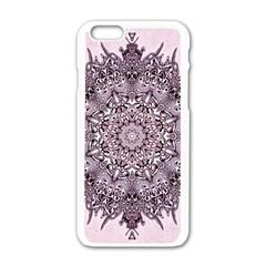 Sacred Art Shaman Shamanism Apple Iphone 6/6s White Enamel Case