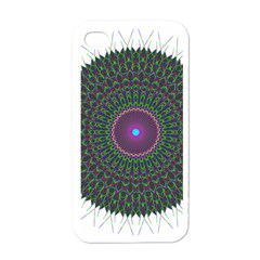 Pattern District Background Apple Iphone 4 Case (white)