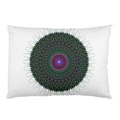 Pattern District Background Pillow Case (Two Sides)