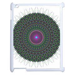 Pattern District Background Apple iPad 2 Case (White)