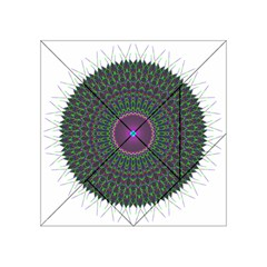 Pattern District Background Acrylic Tangram Puzzle (4  X 4 )