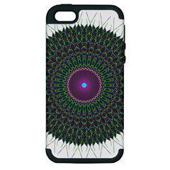 Pattern District Background Apple iPhone 5 Hardshell Case (PC+Silicone)