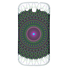 Pattern District Background Samsung Galaxy S3 S III Classic Hardshell Back Case