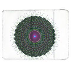 Pattern District Background Samsung Galaxy Tab 7  P1000 Flip Case