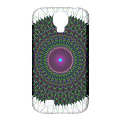 Pattern District Background Samsung Galaxy S4 Classic Hardshell Case (pc+silicone)