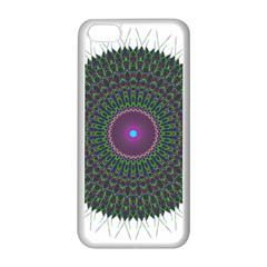 Pattern District Background Apple Iphone 5c Seamless Case (white)