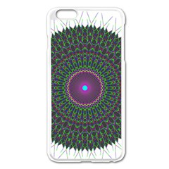 Pattern District Background Apple Iphone 6 Plus/6s Plus Enamel White Case