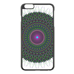 Pattern District Background Apple iPhone 6 Plus/6S Plus Black Enamel Case