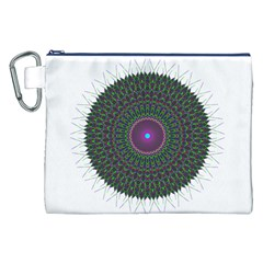Pattern District Background Canvas Cosmetic Bag (xxl)