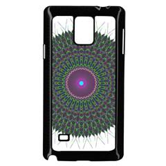 Pattern District Background Samsung Galaxy Note 4 Case (black)