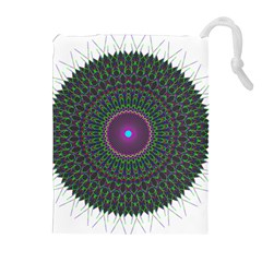 Pattern District Background Drawstring Pouches (Extra Large)