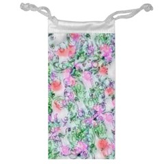 Softly Floral A Jewelry Bag