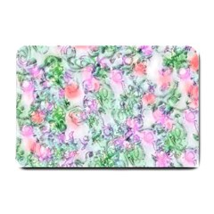 Softly Floral A Small Doormat
