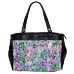 Softly Floral A Office Handbags Front