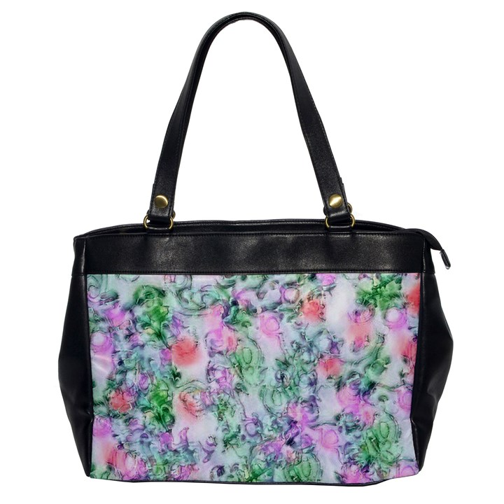 Softly Floral A Office Handbags