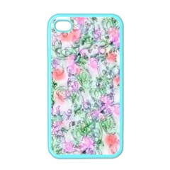 Softly Floral A Apple iPhone 4 Case (Color)