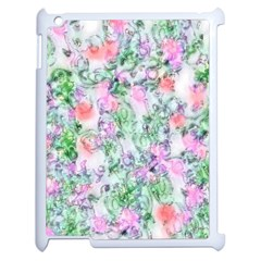 Softly Floral A Apple iPad 2 Case (White)