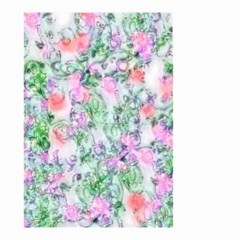 Softly Floral A Small Garden Flag (Two Sides)