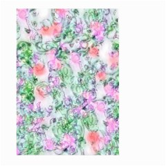 Softly Floral A Large Garden Flag (Two Sides)
