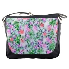 Softly Floral A Messenger Bags