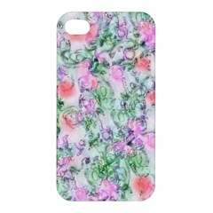 Softly Floral A Apple iPhone 4/4S Premium Hardshell Case