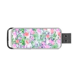 Softly Floral A Portable USB Flash (One Side)