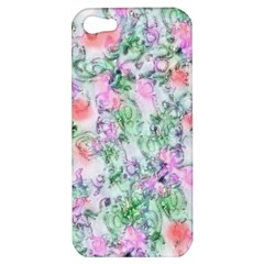 Softly Floral A Apple iPhone 5 Hardshell Case