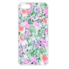 Softly Floral A Apple iPhone 5 Seamless Case (White)