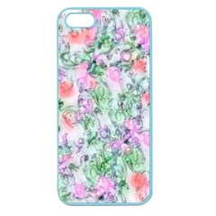 Softly Floral A Apple Seamless iPhone 5 Case (Color)