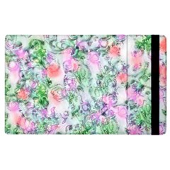 Softly Floral A Apple iPad 2 Flip Case