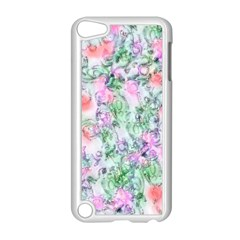 Softly Floral A Apple iPod Touch 5 Case (White)
