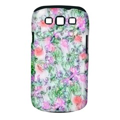 Softly Floral A Samsung Galaxy S III Classic Hardshell Case (PC+Silicone)