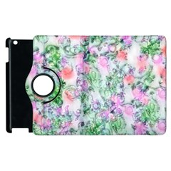 Softly Floral A Apple iPad 3/4 Flip 360 Case