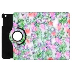 Softly Floral A Apple iPad Mini Flip 360 Case