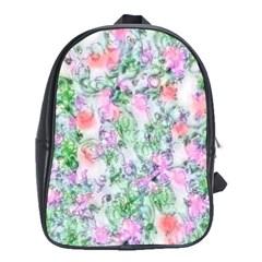 Softly Floral A School Bags (XL)