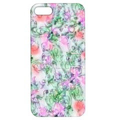 Softly Floral A Apple iPhone 5 Hardshell Case with Stand