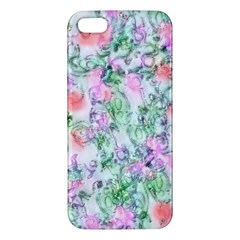 Softly Floral A Apple iPhone 5 Premium Hardshell Case