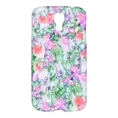 Softly Floral A Samsung Galaxy S4 I9500/I9505 Hardshell Case