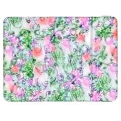 Softly Floral A Samsung Galaxy Tab 7  P1000 Flip Case