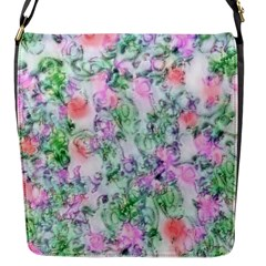 Softly Floral A Flap Messenger Bag (S)