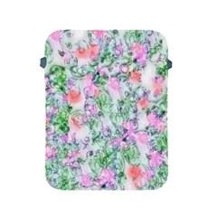 Softly Floral A Apple iPad 2/3/4 Protective Soft Cases