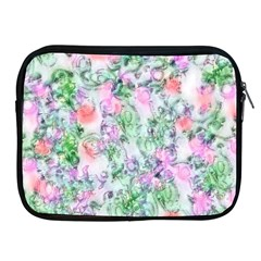 Softly Floral A Apple iPad 2/3/4 Zipper Cases