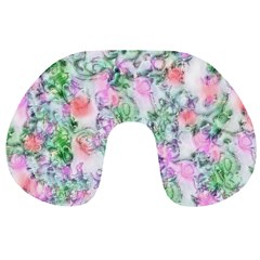 Softly Floral A Travel Neck Pillows