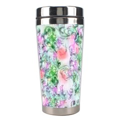Softly Floral A Stainless Steel Travel Tumblers