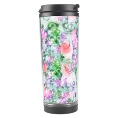 Softly Floral A Travel Tumbler