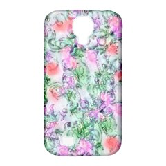 Softly Floral A Samsung Galaxy S4 Classic Hardshell Case (PC+Silicone)