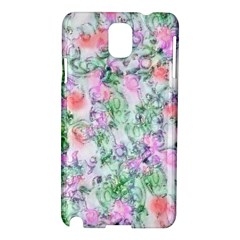 Softly Floral A Samsung Galaxy Note 3 N9005 Hardshell Case